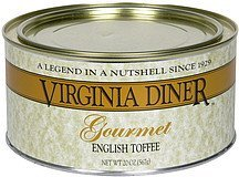 english toffee gourmet Virginia Diner Nutrition info