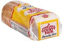 enriched bread family size County Fair Nutrition info