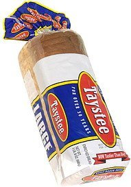 enriched bread sliced, large Taystee Nutrition info