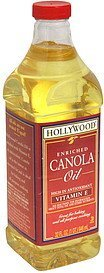 enriched canola oil Hollywood Nutrition info