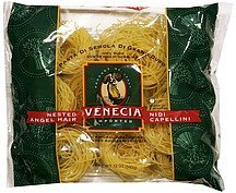 enriched macaroni nested angel hair Venecia Nutrition info