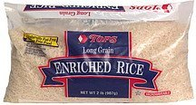 enriched rice long grain Hy Tops Nutrition info