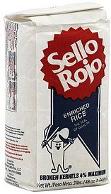 enriched rice Sello Rojo Nutrition info