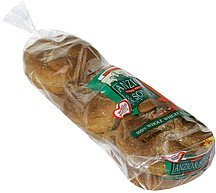 enriched rolls 100% whole wheat kaiser Anzio & Sons Nutrition info