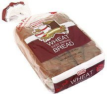 enriched wheat bread sliced, twin pak Layton Farms Bakery Nutrition info