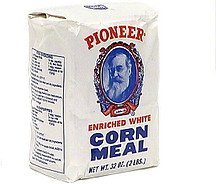 enriched white corn meal Pioneer Nutrition info