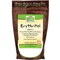 erythritol Now Foods Nutrition info