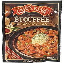 etouffee seasoning mix Cajun King Nutrition info