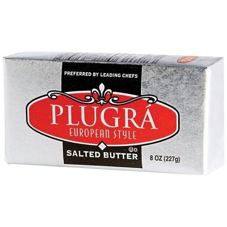 european style salted butter Plugra Nutrition info