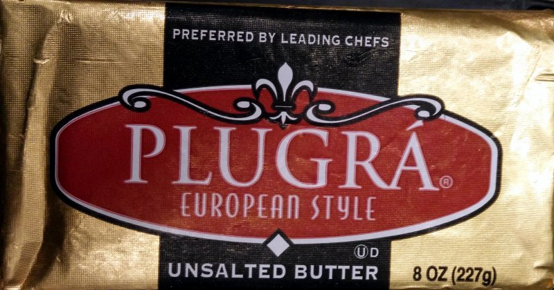 european style unsalted butter Plugra Nutrition info