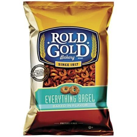 everything bagel pretzel rings Rold Gold Nutrition info