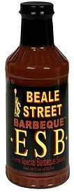 extra special barbeque sauce Beale Street Barbeque Nutrition info