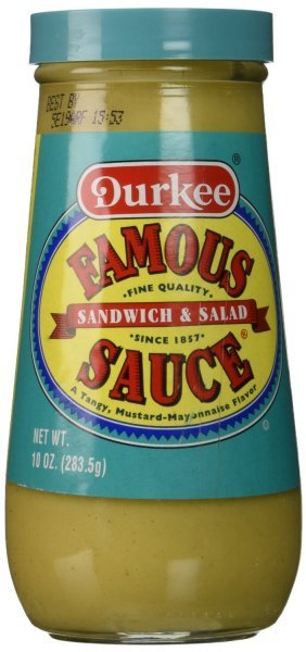 famous sandwich and salad sauce Durkee Nutrition info