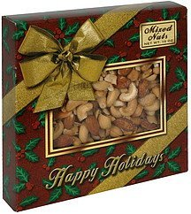 fancy mixed nuts no peanuts added Riverdale Fine Foods Nutrition info