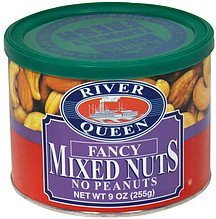 fancy mixed nuts no peanuts River Queen Nutrition info