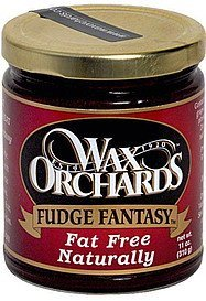 fantasy fudge Wax Orchards Nutrition info