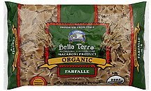 farfalle organic, 100% whole wheat Bella Terra Nutrition info