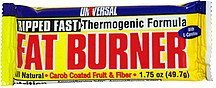 fat burner high performance sports bar Universal Nutrition info