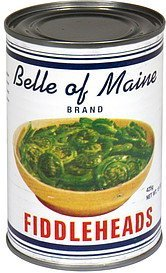 fiddleheads Belle of Maine Nutrition info