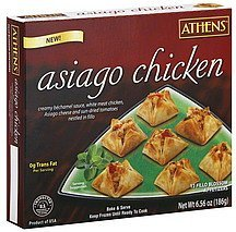 fillo blossom appetizers asiago chicken Athens Nutrition info