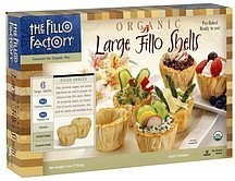 fillo shells large, organic The Fillo Factory Nutrition info