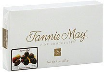 fine chocolates assorted creams Fannie May Nutrition info