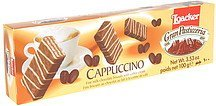 fine milk chocolate biscuits with coffee cream Loacker Nutrition info
