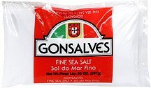 fine sea salt Gonsalves Nutrition info