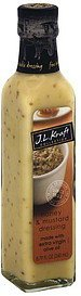 fine table dressing honey & mustard J.L. Kraft Collection Nutrition info