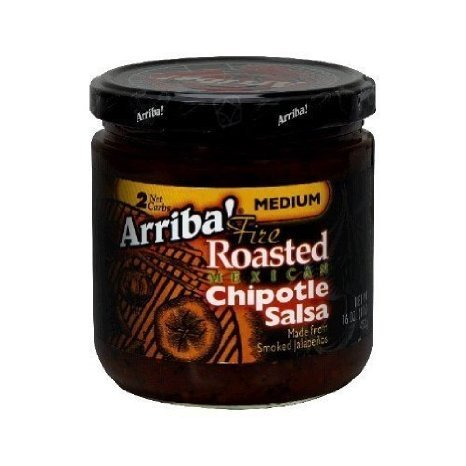 fire roasted mexican chipotle salsa Arriba! Nutrition info
