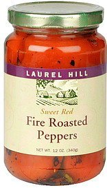 fire roasted peppers sweet red Laurel Hill Nutrition info