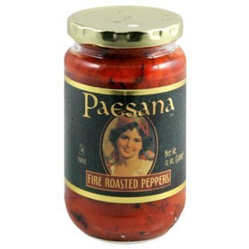 fire roasted peppers Paesana Nutrition info