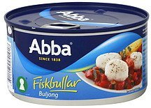 fish balls in bouillon Abba Nutrition info