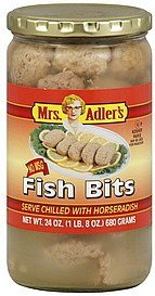 fish bits Mrs Adlers Nutrition info