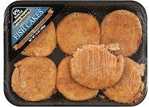 fish cakes breaded, oven-ready Simply Seafood Nutrition info