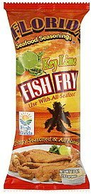 fish fry key lime Florida Seafood Seasonings Nutrition info