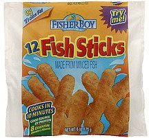 fish sticks Fisher Boy Nutrition info
