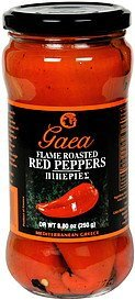 flame roasted red peppers Gaea Nutrition info
