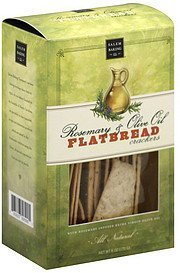 flatbread crackers rosemary & olive oil Salem Baking Co. Nutrition info