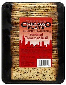 flatbread gourmet, sundried tomato & basil Chicago Flats Nutrition info