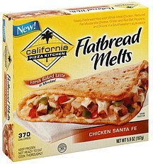 flatbread melts chicken santa fe California Pizza Kitchen Nutrition info