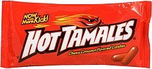 flavored candies chewy cinnamon Hot Tamales Nutrition info