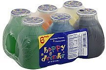 flavored drinks assorted flavors Happy Drinks Nutrition info