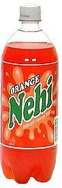 flavored soda orange Nehi Nutrition info