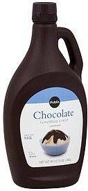 flavored syrup chocolate Publix Nutrition info