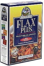 flax plus multibran cereal LifeStream Nutrition info