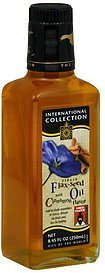 flax-seed oil virgin, with cinnamon flavor International Collection Nutrition info