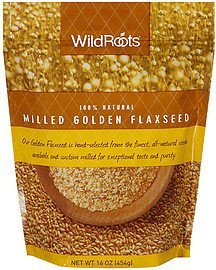flaxseed milled golden Wildroots Nutrition info
