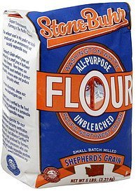 flour all-purpose, unbleached Stone-Buhr Nutrition info