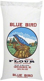 flour enriched, bleached Blue Bird Nutrition info